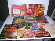 Vintage McCall's Cookbook Collection 1960's Vol M1-10 Acme version with coupon
