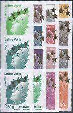 N°4662A à 4662Q - 15 Timbres neufs Maxi format - MARIANNE de l'Europe - 2012