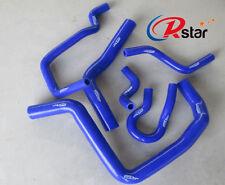 For Honda Civic Type R DC2 EK4 EK9 B16A B silicone radiator heater hose kit BLUE