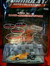 1/43 March 761 Hans Joachim Stuck #34 1976 + N 156 Formula 1 Auto Collection F1