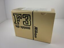 551463A Nikon F3HP 35mm SLR High Eyepoint Camera NEW IN BOX, UNUSED