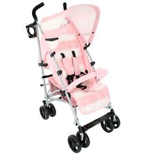 My Babiie MB01 From Birth Baby Stroller / Pram - Billie Faiers Pink Stripe