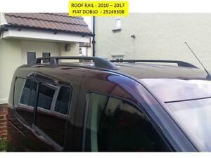 FIAT DOBLO 2010+ ELEGANCE BLACK ROOF RAILS  AFTERMARKET PARTS 2524930B