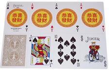 CARTE DA GIOCO BICYCLE GONG XI FA CAI, poker SIZE