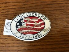 Longaberger 25th Anniversary Ceramic Magnet New In Bag