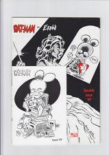 leo ortolani ratman rat-man erinni speciale lucca 400 copie con cartolina raro