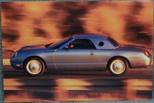 POSTCARD ~ 2002 FORD THUNDERBIRD ~ SIDE VIEW