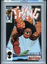 The Thing #29 CGC 9.8 White Boxing Cover