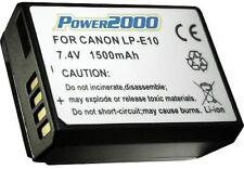 Power2000 LP-E10 Battery  Canon EOS Rebel T3, T5, T6, T7 SLR Camera COMBO FREE