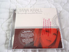 DIANA KRALL HAVE YOURSELF A MERRY LITTLE CHRISTMAS EP CD & CALENDAR NEW PROMO