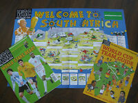 WSC WHEN SATURDAY COMES FOOTBALL MAGAZINE JUNE 2010 WITH FREE WORLD CUP GIFTS