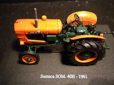 Hachette Tractors - SOMECA SOM 40H - 1961 - no seat and steering wheel broke