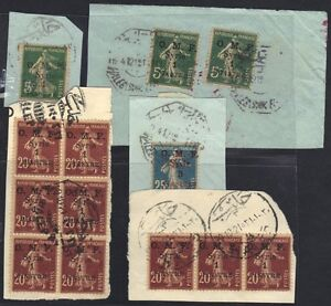 "SYRIA 1920s 29 EARLY FRENCH ISSUES WITH ""SOUKI EL HABL"" ALEP & BEIRUT CANCELS ON"