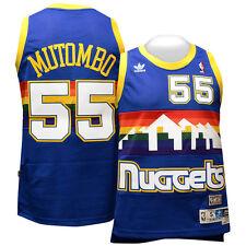 Dikembe Mutombo Denver Nuggets Adidas NBA Throwback Swingman Jersey L