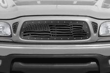Custom Aftermarket Grille Stainless Steel for 2001-04 Toyota Tacoma TRD USA FLAG
