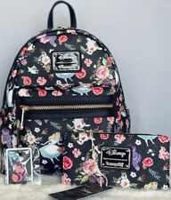 Loungefly Mini Backpack Alice in Wonderland Floral