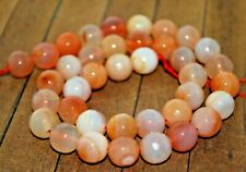 New extra long strand High Quality Stone Beads -12mm Peach Agate - A4718c