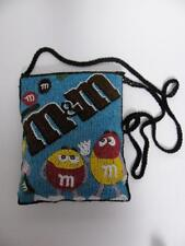 M&M's FRIENDS PURSE FULLY BEADED CROSS BODY OVER SHOULDER FUN PARTY EVENING BAG