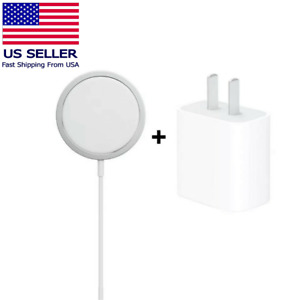 For Apple iPhone 12 Pro Max Wireless 20w Charger Mag safe Magnetic Fast Charging