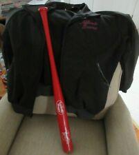 Louisville Slugger Promo Greenville SC Braves Bat & Atlanta Braves Club Jacket