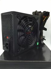 New 1000W 1000 Watt Grill 5.5 Inch Fan Silent ATX Power Supply SATA PCI-eXpress