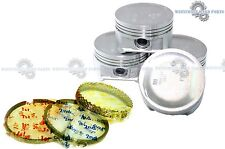 01-05 Honda Civic 1.7L D17A1 D17A7 D17A8 COMPLETE PISTONS + RINGS KIT (1 SET)