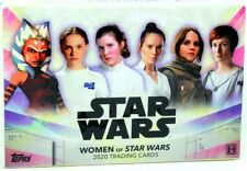 2020 TOPPS WOMEN OF STAR WARS HOBBY BOX BLOWOUT CARDS