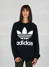 Adidas Oversized Felpa Donna Nero 36 Eu/42 IT Sport 4059807171617