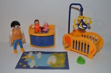 8551 playmobil babykamer 3207 city life
