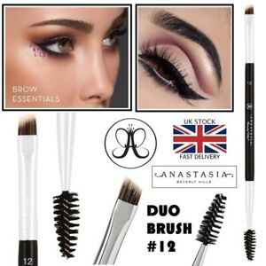Anastasia Beverly Hills Duo Brow Brush #12 Dual Ended Firm Detail Brush 12