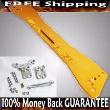 Rear Tie Bar Subframe Brace 92-95 Honda Civic/93-97 Del Sol/94-01 Integra GOLD