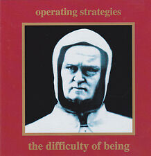 Operating Strategies - The Difficulty Of Being (CD 1992)  Danse Macabre Records!