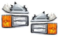 New Headlight PAIR FOR 1992 1993 1994 1995-1999 Mack CL600 Heavy Duty Trucks