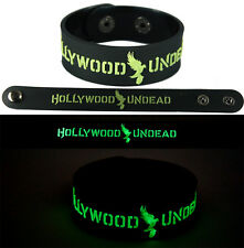 HOLLYWOOD UNDEAD  Bracelet Wristband gg125 Glow in the Dark/American Tragedy