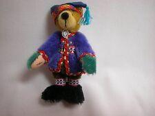 "World of Miniatures Bears 3.5"" Mohair Bear Thor #896 Collectible Miniature Bear"