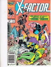 X-FACTOR  #4 1986 MARVEL STAN LEE -THE BEAST IS BACK- LAYTON/ ROSEN...FN