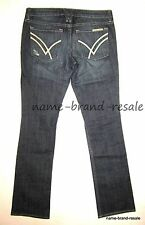WILLIAM RAST Sadie Straight Leg JEANS Womens 28 Designer Denim RIPPED DISTRESSED