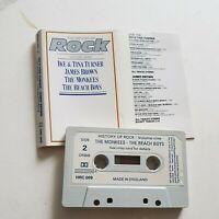 The History Of Rock Ike & Tina ... James Brown. Monkees Beach Boys Cassette