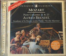 Rare Decca Mozart Piano Concerto 21 23 CD Sealed Alfred Brendel Neville Marriner