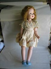 "Rita Paris Walking Doll Vintage 1950 Large 24"" Hard Plastic Cinderella?"