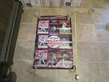 Minnesota Twins World Series Champions 1987 Midwest Federal poster posters