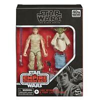 Star Wars Black Series Deluxe EP5 40th Year Luke Skywalker Yoda Jedi Training