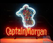 "New Captain Morgan Logo Beer Bar Neon Light Sign 24""x20"""