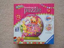 SHOPKINS 72 piece junior puzzleball jigsaw puzzle RAVENSBURGER 3D ball