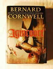 AGINCOURT by Bernard Cornwell HC Excellent Historical novel FREE SHIPPING