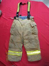 Mfg 2008 Quest 42 X 29 Firefighter Turnout Bunker Pants Gear Rescue Suspenders