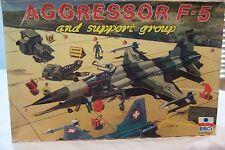 "ESCI ""AGGRESSOR F-5 And Support Group"" 1:48 Scale NIB"