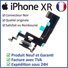 IPHONE XR DOCK NOIR - NAPPE DOCK FLEX CONNECTEUR DE CHARGE LIGHTNING ET MICRO