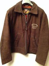 giacca giubbotto chaqueta in pelle leather jacket harley davidson vintage uomo