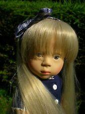 Götz Puppe 46 cm Sylvia Natterer blond Fanouche SN89 Künstlerpuppe Gotz Doll 05